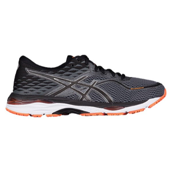 アシックス メンズ ランニング・ウォーキング シューズ・靴【GEL-Cumulus 19】Carbon/Black/Hot Orange