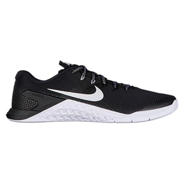 ナイキ メンズ フィットネス・トレーニング シューズ・靴【Metcon 4】Black/White