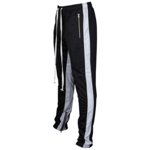 アメリカンスティッチ メンズ ボトムス・パンツ【Striped Track Pants】Black/White
