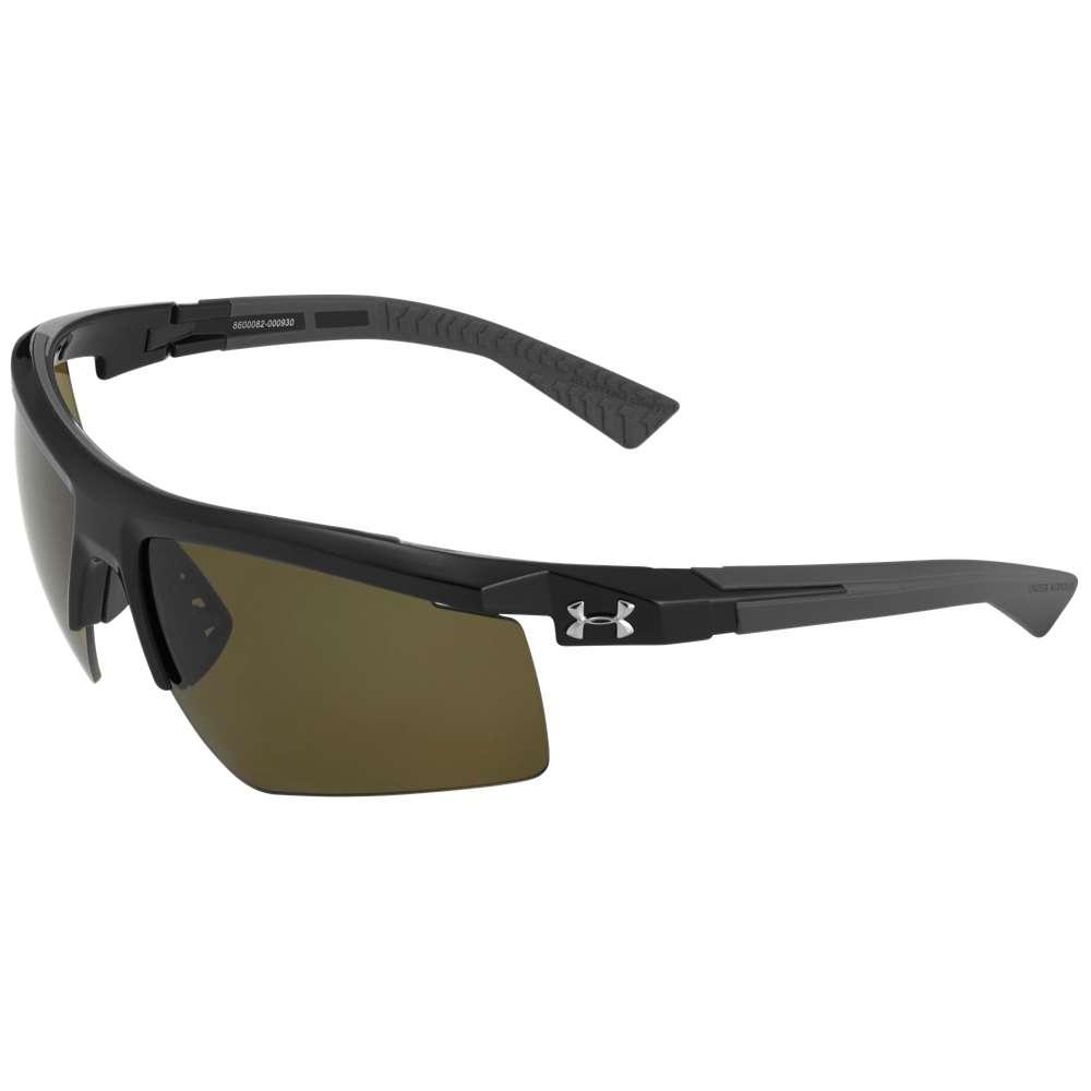 アンダーアーマー ユニセックス スポーツサングラス【Core 2.0 Sunglasses】Black Frame/Gameday Lens