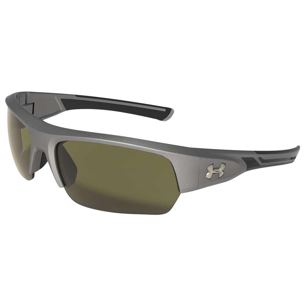 アンダーアーマー ユニセックス スポーツサングラス【Big Shot Sunglasses】Grey/Gameday Lens