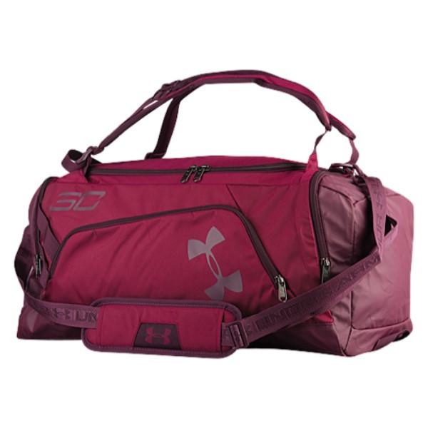 アンダーアーマー ユニセックス バッグ バックパック・リュック【SC30 Contain Backpack】Black Curant/Raisin Red