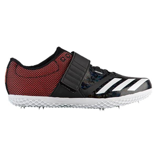 アディダス メンズ 陸上 シューズ・靴【adiZero HJ】Core Black/Footwear White/Orange