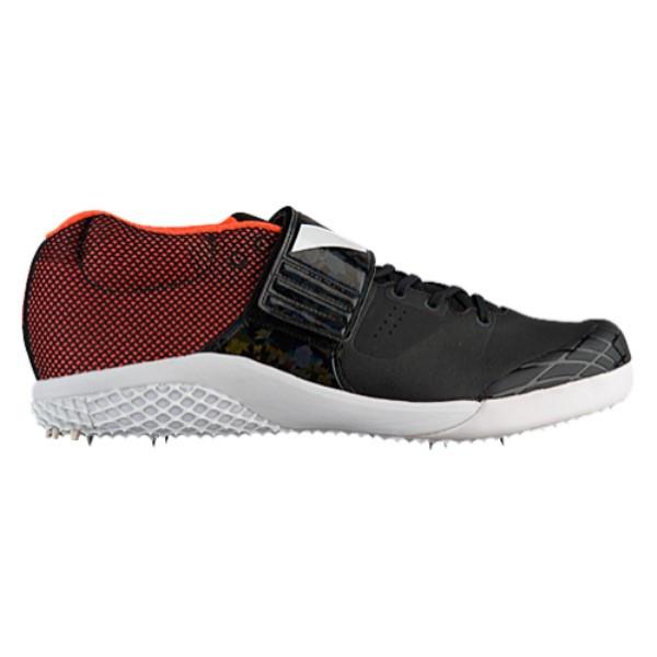 アディダス メンズ 陸上 シューズ・靴【adiZero Javelin】Core Black/Footwear White/Orange