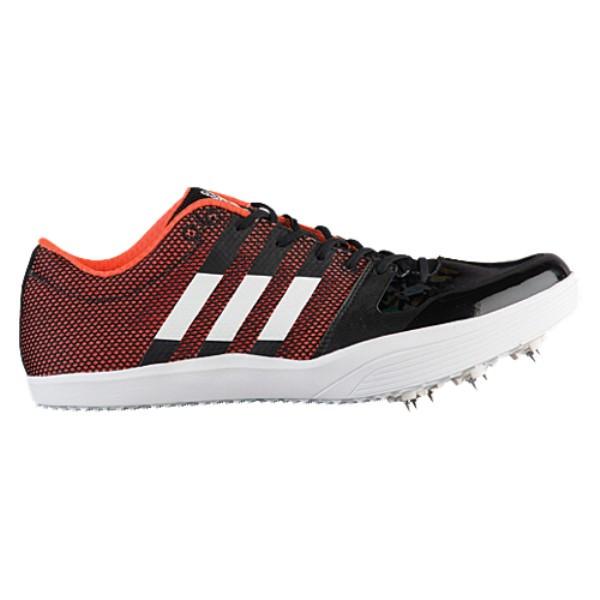 アディダス メンズ 陸上 シューズ・靴【adiZero LJ】Core Black/Footwear White/Orange