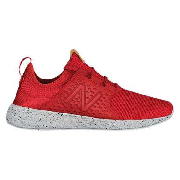 ニューバランス メンズ ランニング・ウォーキング シューズ・靴【Fresh Foam Cruz】Temp Red/Phantom