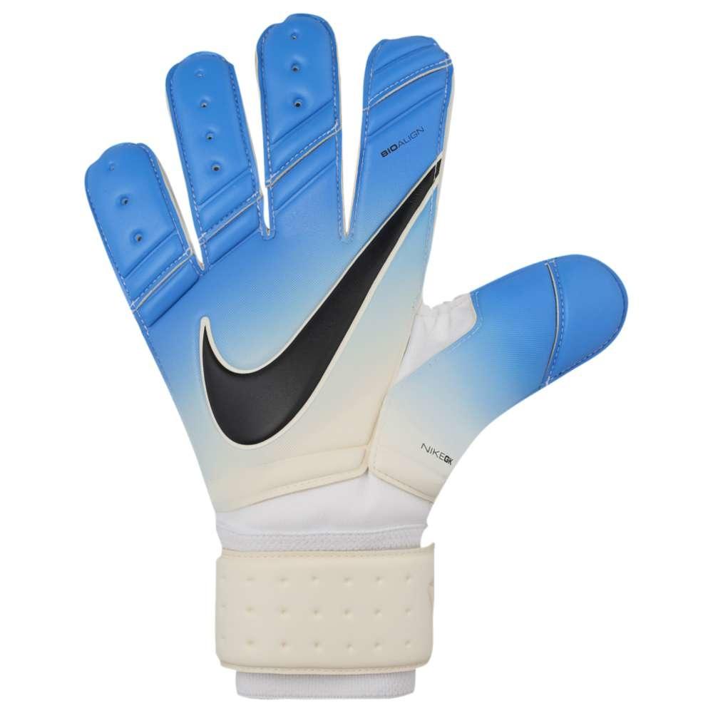ナイキ ユニセックス サッカー グローブ【Goalkeeper Premier Gloves】White/Photo Blue/Chlorine Blue