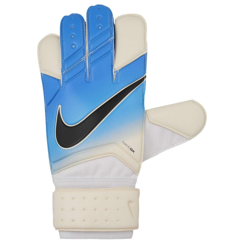 ナイキ ユニセックス サッカー グローブ【Goalkeeper Vapor Grip Gloves】White/Photo Blue/Chlorine Blue