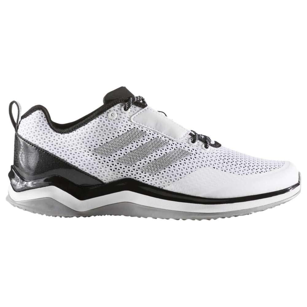アディダス メンズ 野球 シューズ・靴【Speed Trainer 3.0】White/Silver Metallic/Black