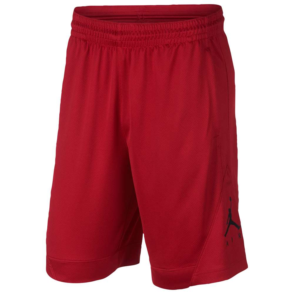 ナイキ ジョーダン メンズ バスケットボール ボトムス・パンツ【Rise Striped Triangle Shorts】Gym Red/Black