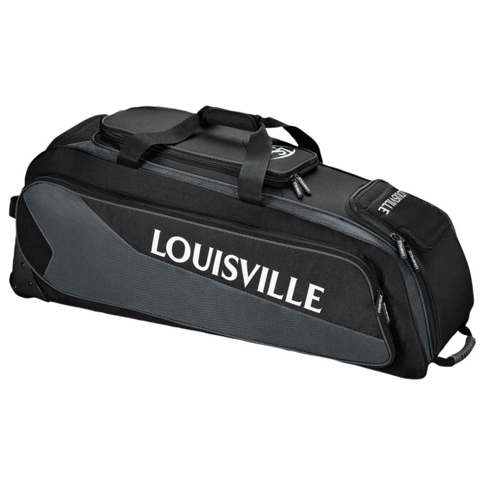 ルイスビルスラッガー ユニセックス 野球【Prime Rig Wheeled Bag】Black/Charcoal