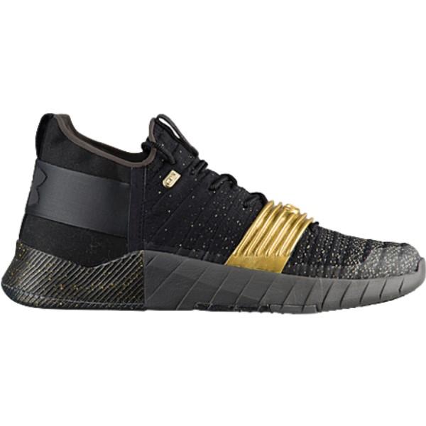 アンダーアーマー メンズ フィットネス・トレーニング シューズ・靴【C1N Trainer】Black/Graphite