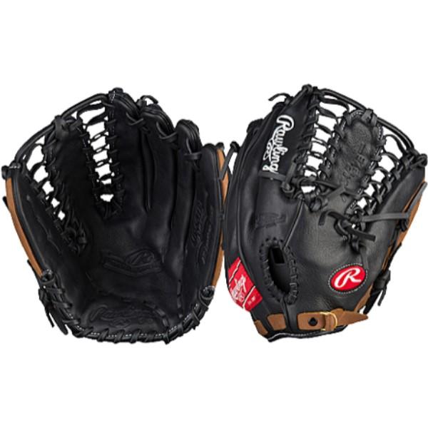 ローリングス ユニセックス 野球 グローブ【Mark of a Pro Trap Web Fielder's Glove】Black/Tan