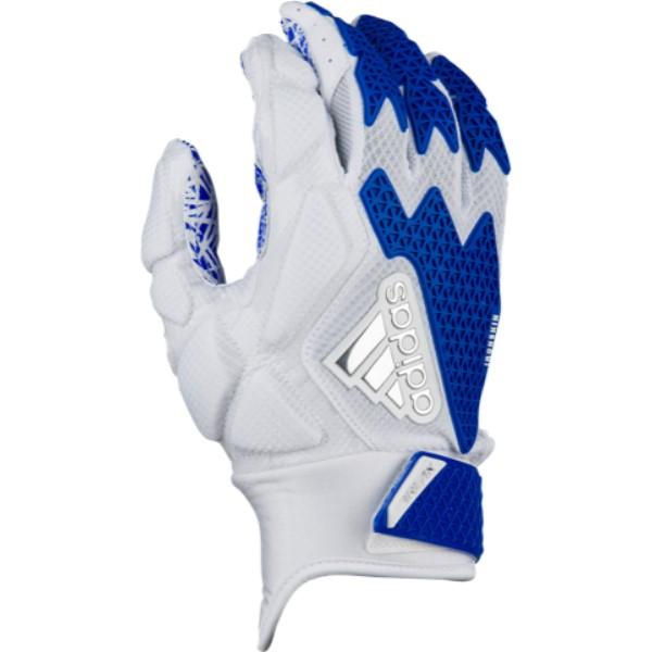 アディダス メンズ アメリカンフットボール グローブ【Freak 3.0 Football Gloves】White/Royal