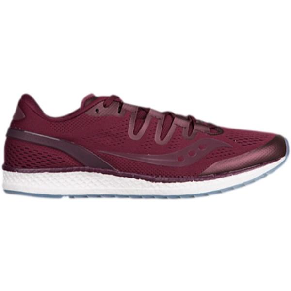 サッカニー メンズ ランニング・ウォーキング シューズ・靴【Freedom ISO】Burgundy