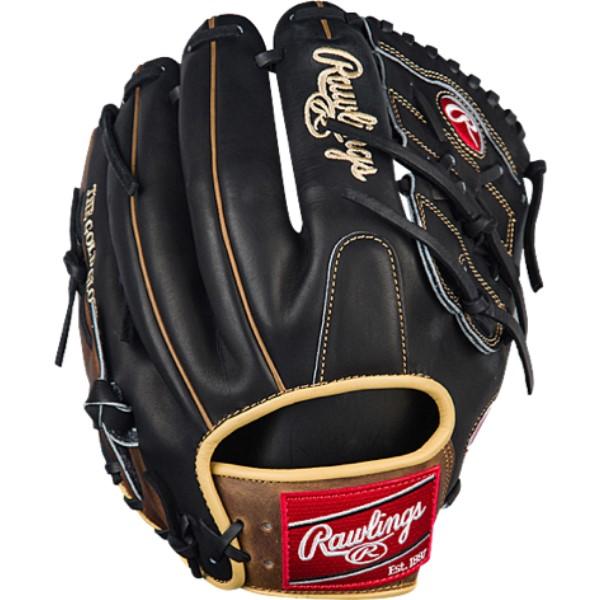 ローリングス ユニセックス 野球 グローブ【Heart of the Hide Pro Fielder's Glove】Black/Brown/Tan