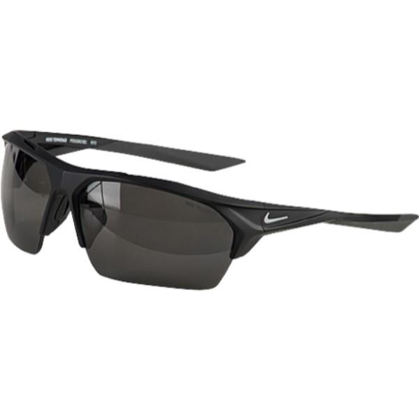 ナイキ ユニセックス スポーツサングラス【Terminus Sunglasses】Matte Black/White/Grey Polarized Lens