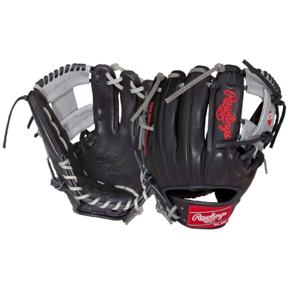 ローリングス ユニセックス 野球 グローブ【Heart of the Hide Fielder's Glove】Black/Silver/Red