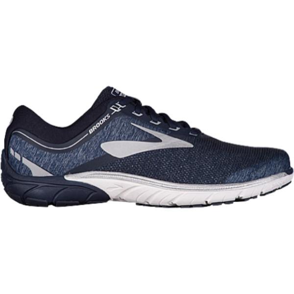 ブルックス メンズ ランニング・ウォーキング シューズ・靴【PureCadence 7】Peacoat/Silver/White