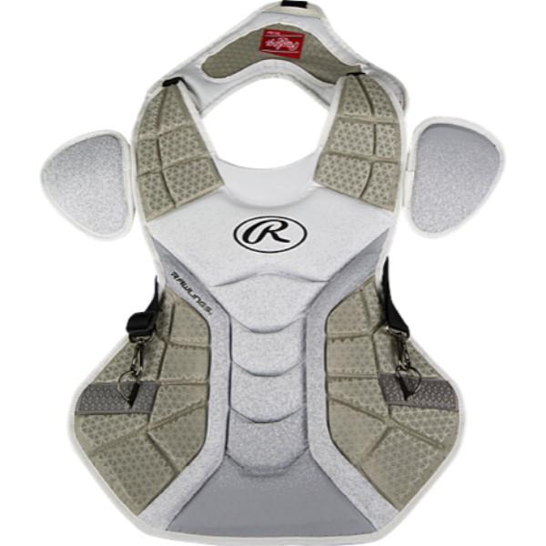 ローリングス ユニセックス 野球 プロテクター【Velo Chest Protector】White/Silver