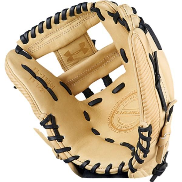 アンダーアーマー ユニセックス 野球 グローブ【Flawless I-Web Fielding Glove】Cream/Black