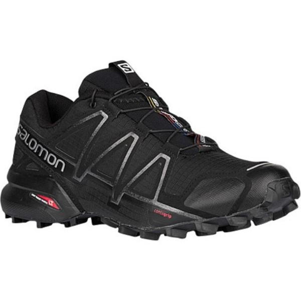 サロモン メンズ ランニング・ウォーキング シューズ・靴【Speedcross 4】Black/Black Metallic