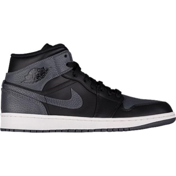 ナイキ ジョーダン メンズ バスケットボール シューズ・靴【AJ1 Mid】Black/Dark Grey/Summit White