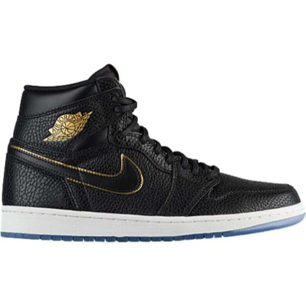 ナイキ ジョーダン メンズ バスケットボール シューズ・靴【Retro 1 High OG】Black/Metallic Gold/Summit White