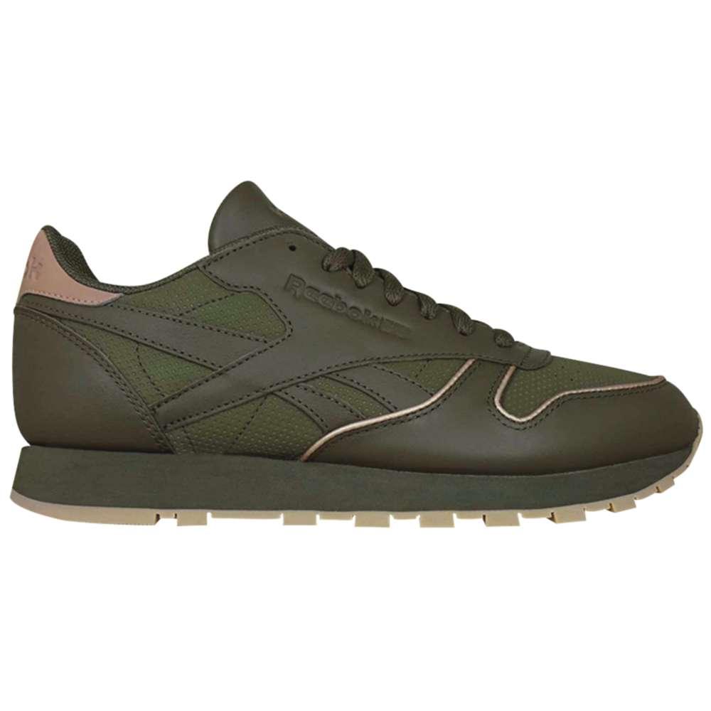 リーボック メンズ ランニング・ウォーキング シューズ・靴【Classic Leather】Army Green/Rose Gold/Gum