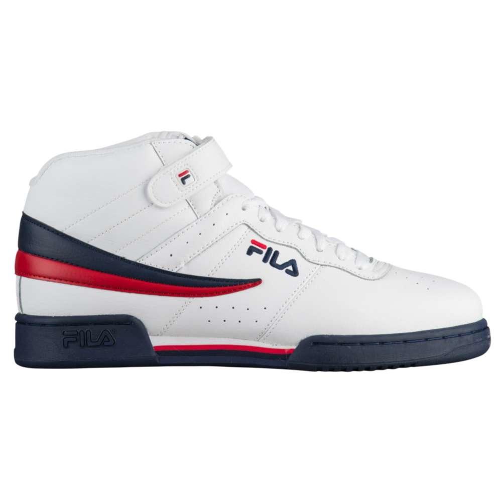 フィラ メンズ バスケットボール シューズ・靴【F-13】Crimson/Navy/Red