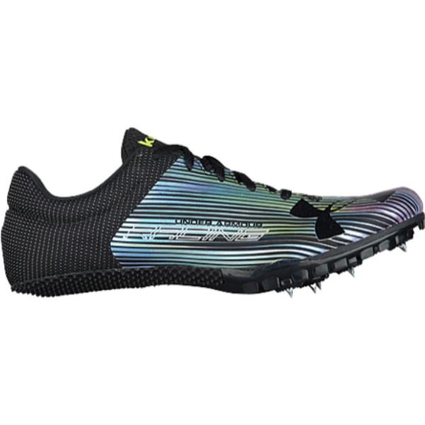 アンダーアーマー メンズ 陸上 シューズ・靴【Kick Sprint】Black/White/Black