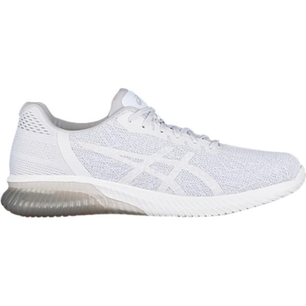 アシックス メンズ ランニング・ウォーキング シューズ・靴【GEL-Kenun】White/Glacier Grey