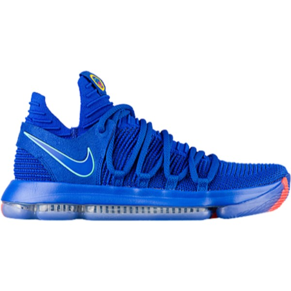 ナイキ メンズ バスケットボール シューズ・靴【KD X】Racer Blue/Black/Total Crimson