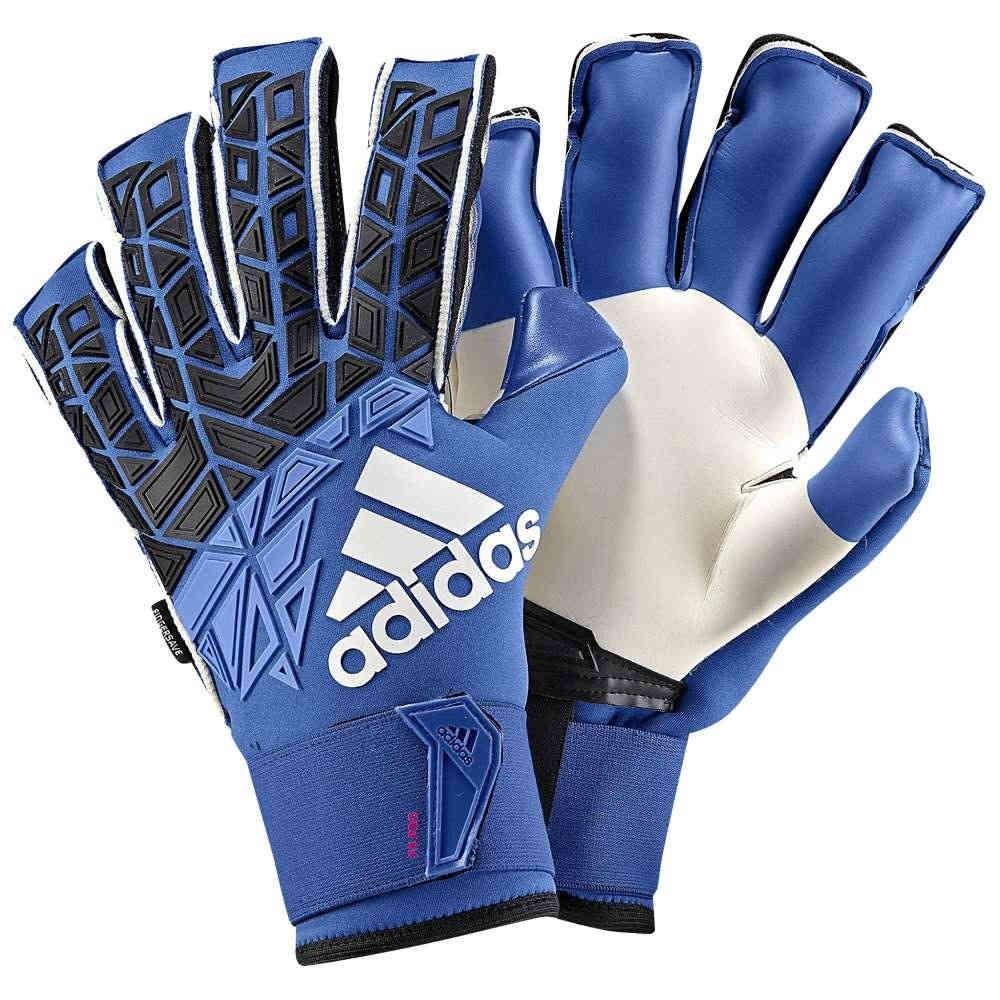 アディダス ユニセックス サッカー グローブ【Ace Trans FS Pro GK Gloves】Blue/Core Black/White/Shock Pink