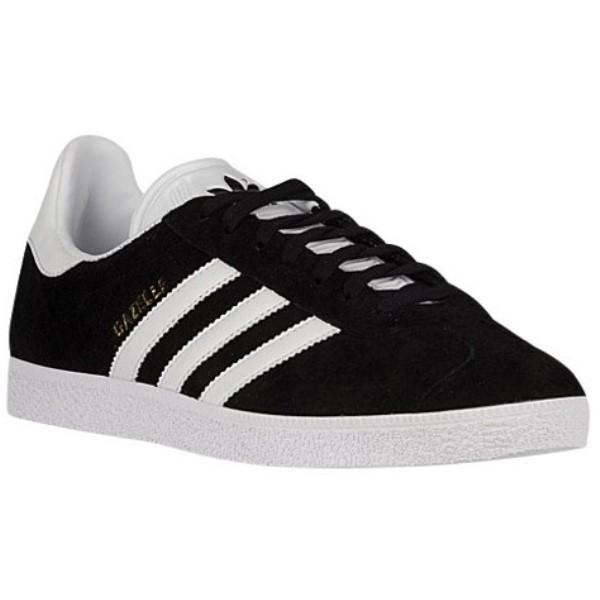 アディダス メンズ フィットネス・トレーニング シューズ・靴【Gazelle】Black/White/Metallic Old Gold