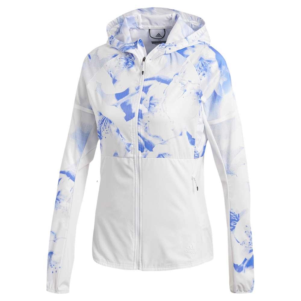 アディダス レディース アウター ジャケット【Ultra Jacket】Crystal White/Res Blue