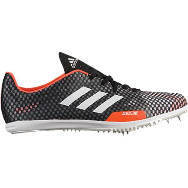 アディダス メンズ 陸上 シューズ・靴【adiZero Ambition 4】Core Black/Footwear White/Hi-Res Orange