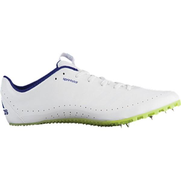 アディダス メンズ 陸上 シューズ・靴【Sprintstar】Footwear White/Crystal White/Real Purple