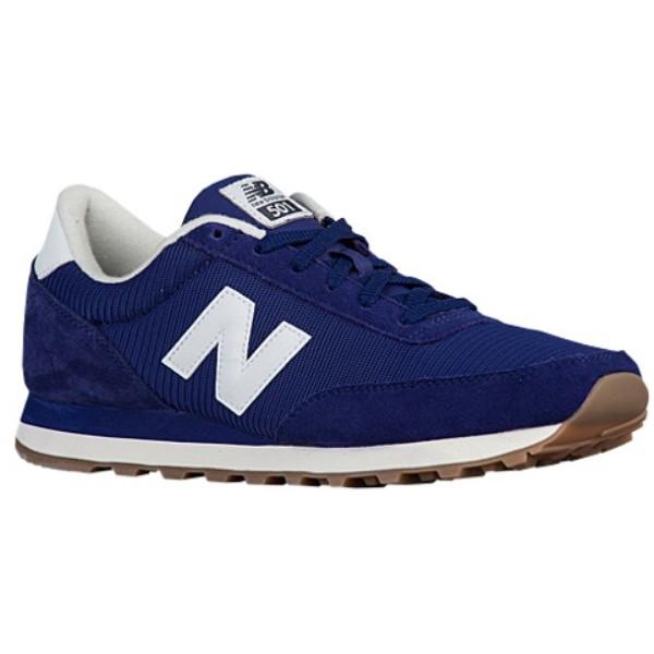 ニューバランス メンズ ランニング・ウォーキング シューズ・靴【501】Navy/White