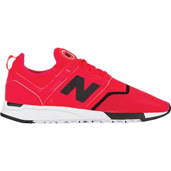 ニューバランス メンズ ランニング・ウォーキング シューズ・靴【247】Red/Black