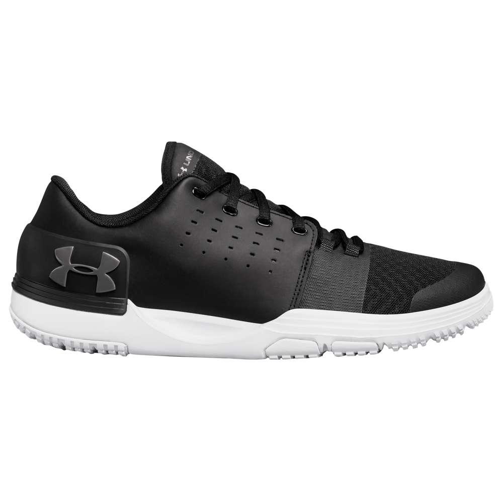 アンダーアーマー メンズ フィットネス・トレーニング シューズ・靴【Limitless TR 3.0】Black/Black/Metallic Iron