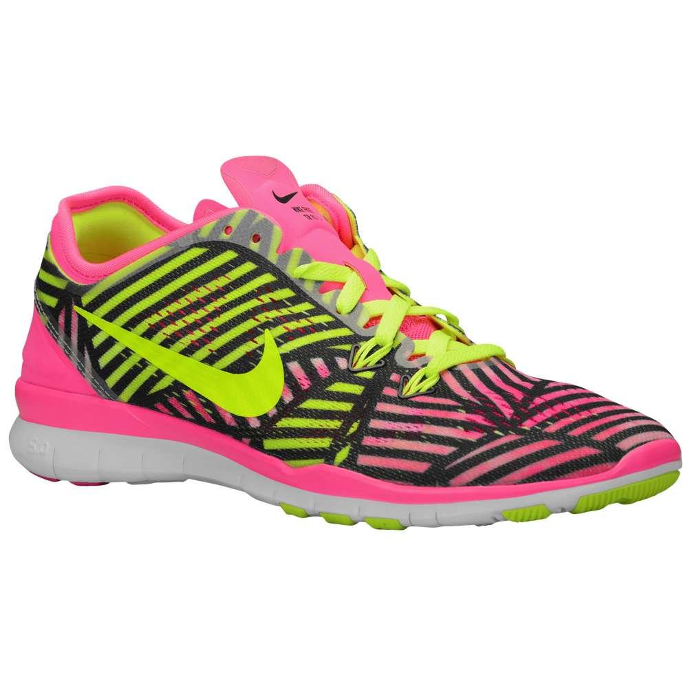 ナイキ レディース フィットネス・トレーニング シューズ・靴【Free 5.0 TR Fit 5】Pink Pow/Volt/Black
