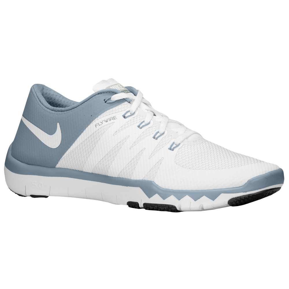 ナイキ メンズ フィットネス・トレーニング シューズ・靴【Free Trainer 5.0 V6】White/Dove Grey/Pure Platinum/White