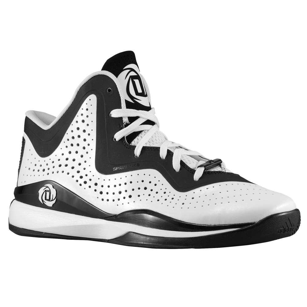 アディダス メンズ バスケットボール シューズ・靴【D Rose 773 III】White/Black/White