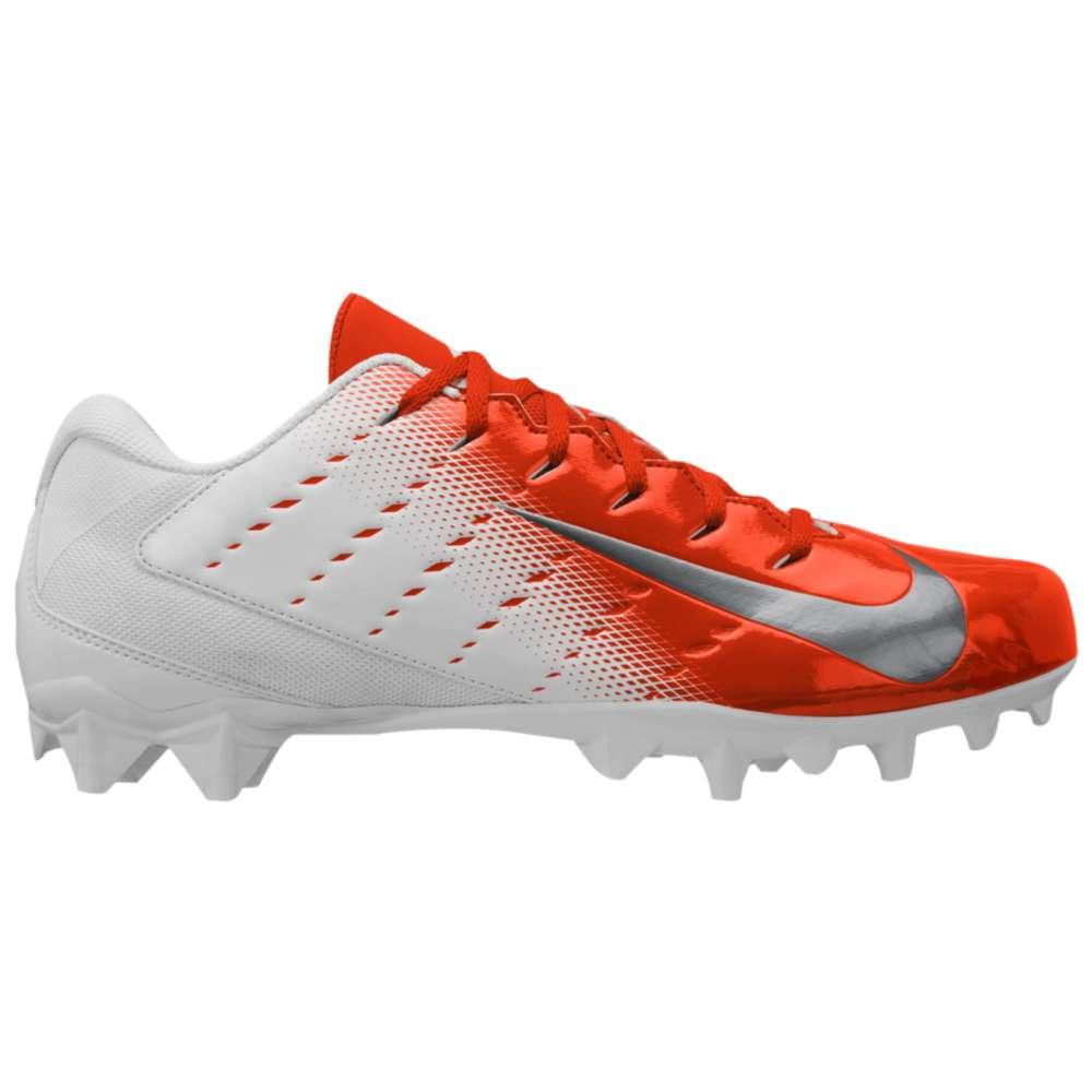 ナイキ メンズ アメリカンフットボール シューズ・靴【Vapor Varsity 3 TD】White/Metallic Silver/Rush Orange/Black