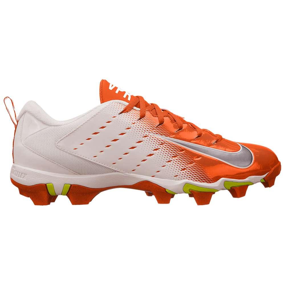 ナイキ メンズ アメリカンフットボール シューズ・靴【Vapor Shark 3】White/Black/Total Orange