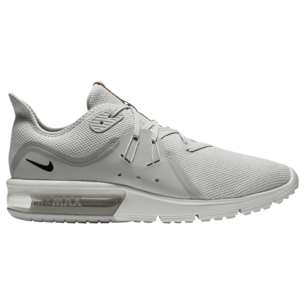 ナイキ メンズ ランニング・ウォーキング シューズ・靴【Air Max Sequent 3】Pure Platinum/Black/White