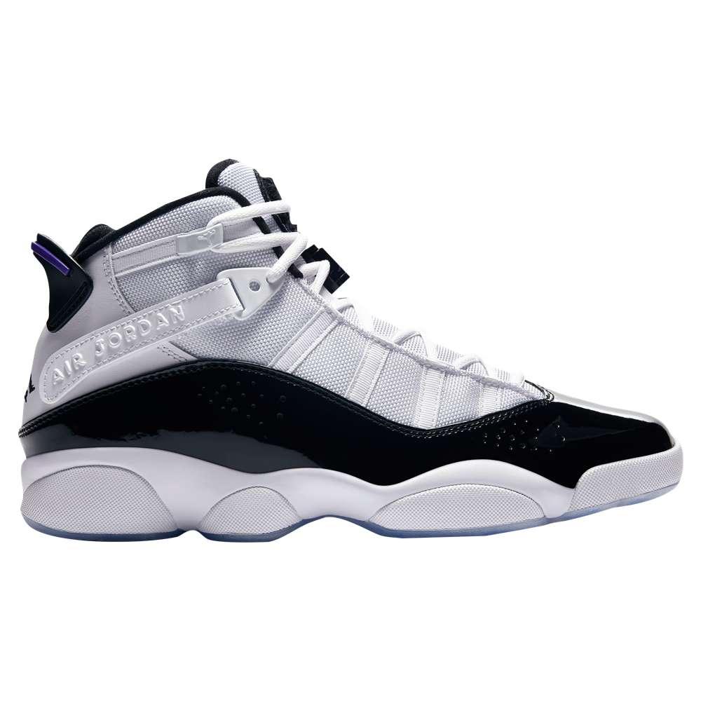 ナイキ ジョーダン メンズ バスケットボール シューズ・靴【6 Rings】White/Black/Dark Concord/Clear