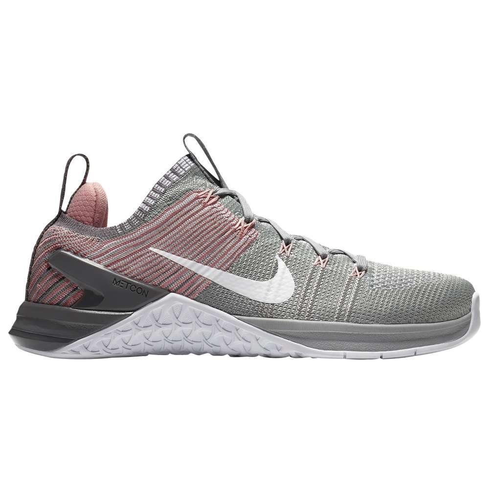 ナイキ レディース フィットネス・トレーニング シューズ・靴【Metcon DSX Flyknit 2】Matte Silver/White/Rust Pink