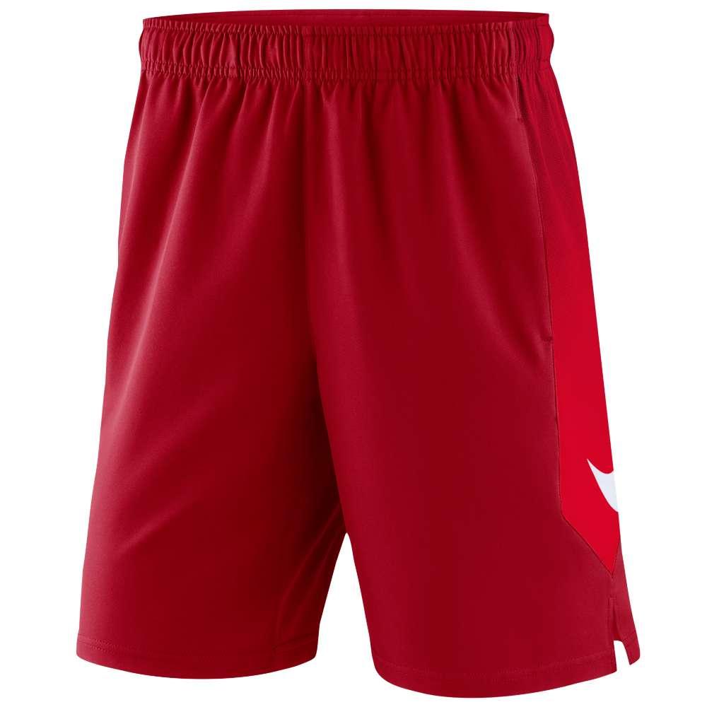 ナイキ メンズ フィットネス・トレーニング ボトムス・パンツ【MLB AC Woven Shorts】Red
